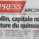 Montmollin, capitale romande de la culture du  quinoa