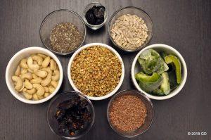 graines germées, déshydrateur
